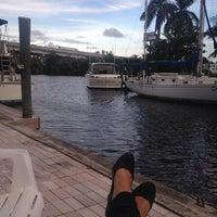 Photo taken at Marina Bay Marina by Alina N. on 9/29/2014