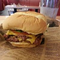 Photo taken at Jake's Wayback Burger by Lou P. on 1/13/2013