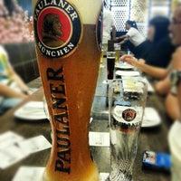 Photo taken at Brotzeit German Bier Bar & Restaurant by Cheryl L. on 2/5/2013
