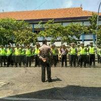 Photo taken at Stadion Kota Batik by Setyo C. on 12/4/2015