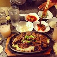 Photo taken at SJ Omogari Korean Restaurant by Juanita B. on 3/15/2013