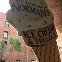 Photo taken at Norman's Ice Cream & Freezes by Marc on 9/2/2013