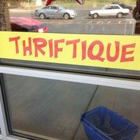 Photo taken at Thriftique by Brenda D. on 8/24/2013