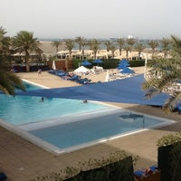 Photo taken at Hilton Kuwait Resort by sean w. on 4/3/2013