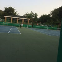 Photo taken at 내곡동체육센터 by David H. on 6/6/2014