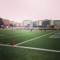 Photo taken at UCLA Spaulding Field by Stephanie U. on 8/21/2013