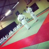 Photo taken at fighting karate by Gerrit S. on 3/17/2014