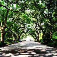 Photo taken at Forsyth Park by Mike H. on 6/25/2013