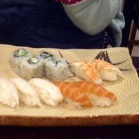Photo taken at Shilla Japan Restaurant by Oskar B. on 12/21/2012