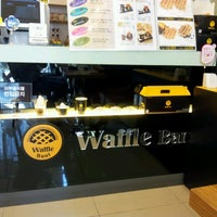 Photo taken at Waffle Bant by Young Wook P. on 3/2/2013