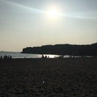Photo taken at 旗津海水浴場 Cijin Beach by RuBiE J. on 4/2/2017
