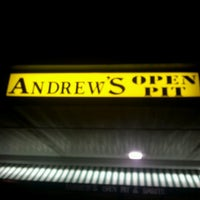 Photo taken at Andrew's Open Pit by J R G. on 2/15/2013