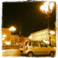 Photo taken at Piazza Carlina by Davide B. on 12/5/2012