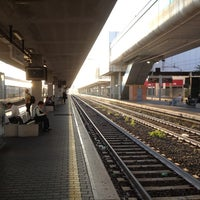 Photo taken at Roma Ostiense Railway Station (IRR) by Christoph W. on 9/25/2013