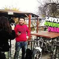 Photo taken at Sayious Adventure Park by Electra A. on 12/16/2015