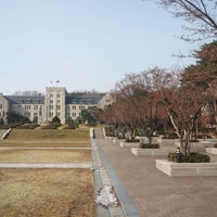 Photo taken at Korea University GSIS by Shawn B. on 12/20/2012
