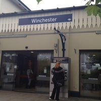 Photo taken at Winchester Railway Station (WIN) by CeyBay on 10/19/2012