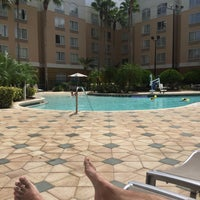 Photo taken at SpringHill Suites Pool by Nanda A. on 8/27/2016