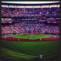 Photo taken at Oriole Park at Camden Yards by Megan J. on 6/25/2013