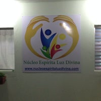 Photo taken at Núcleo Espírita Luz Divina by Rodrigo B. on 8/6/2014