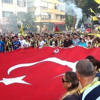 Photo taken at Bağdat Avenue by Murat K. on 6/30/2013