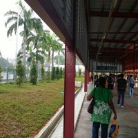 Photo taken at Woodlands Temporary Bus Interchange by Colin H. on 5/18/2016
