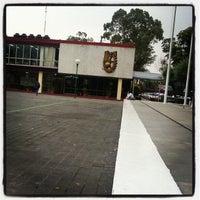 Photo taken at Escuela Superior de Turismo by Adrian N. on 11/5/2012