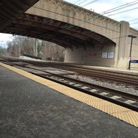 Photo taken at SEPTA Overbrook Station by Talal N. on 3/20/2016