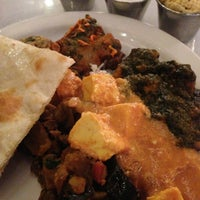 Photo taken at INDIA K' RAJA Restaurant by Meredith H. on 2/6/2013