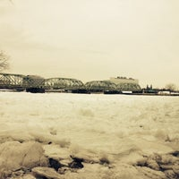 Photo taken at Delaware River by Mrlbi on 1/25/2014
