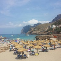 Photo taken at Cala Molins by Victor G. on 8/7/2014