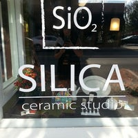 Photo taken at Silica Ceramic Studio by Cassandra W. on 10/4/2013