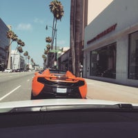 Photo taken at McLaren Auto Gallery Beverly Hills by John B. on 7/5/2015