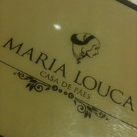 Foto tirada no(a) Maria Louca Casa de Pães por Mara A. em 2/6/2013