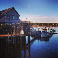 Photo taken at Thurston's Lobster Pound by Kevin O. on 8/7/2013