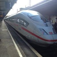 Photo taken at Bahnhof Offenburg by Johan H. on 9/27/2012
