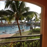 Photo taken at Sandals Whitehouse European Village & Spa by Kris R. on 5/1/2013