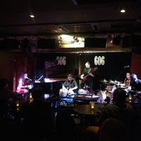 Photo taken at 606 Club by Kinga M. on 1/21/2013