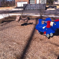 Photo taken at Coldwater Reserve Tot Lot by Amy✨ on 3/15/2014