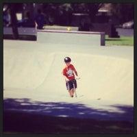 Photo taken at Modesto Skate Park by Gregg E. on 8/17/2013