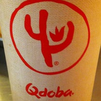 Photo taken at QDOBA Mexican Eats by Amy B. on 10/28/2012