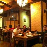 Photo taken at Hello Thai Restaurant by Thiwaporn P. on 6/1/2013