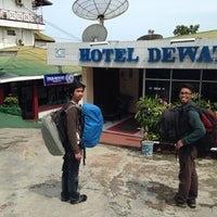 Photo taken at Hotel Dewata by @lucianancy on 1/16/2014