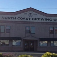 Photo taken at North Coast Brewing Co. Taproom & Grill by Tawny P. on 11/3/2012