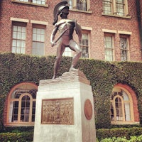 Photo taken at Tommy Trojan by Grant B. on 8/27/2013