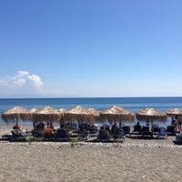 Photo taken at Psaropouli beach by Valanti B. on 8/17/2014