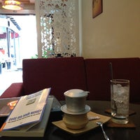 Photo taken at Trung Nguyen Coffee by Liem P. on 6/15/2013