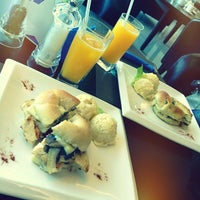 Photo taken at Bread and Bagels by Abdelaziz A. on 10/11/2012