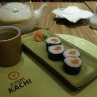 Photo taken at Sushi Kachi by Dini H. on 4/13/2013