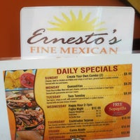 Photo taken at Ernesto's Fine Mexican Food by Beth B. on 6/14/2017